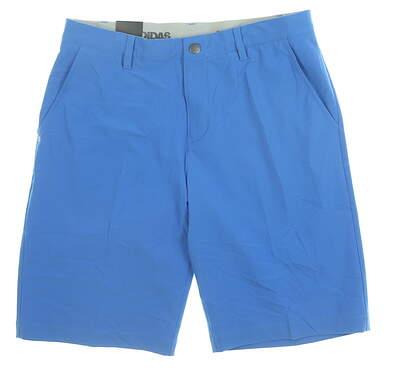 New Mens Adidas Golf Shorts 32 Blue MSRP $65