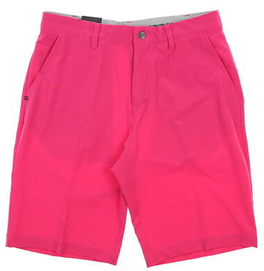 New Mens Adidas Golf Shorts 32 Pink MSRP $65