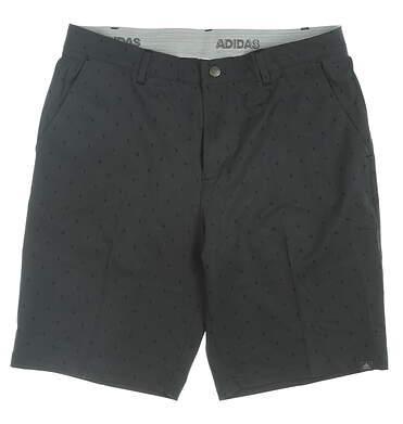 New Mens Adidas Golf Shorts 32 Gray MSRP $65