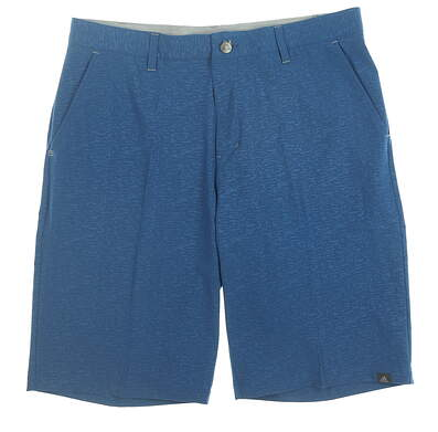 New Mens Adidas Golf Shorts 32 Blue MSRP $65