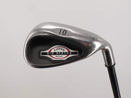 Callaway 2002 Big Bertha Single Iron Pitching Wedge PW Callaway RCH 75i Graphite Regular Right Handed 36.5in