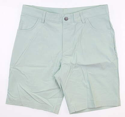 New Mens Adidas Golf Shorts 32 Green MSRP $65