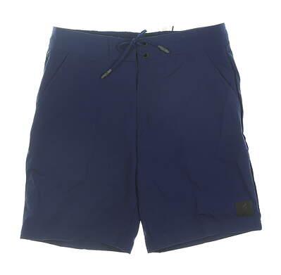 New Mens Adidas Shorts Medium M Navy Blue MSRP $65