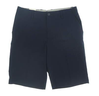 New Mens Adidas Golf Shorts 32 Navy Blue MSRP $65