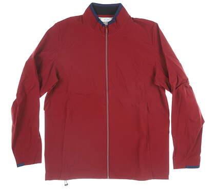 New Mens Adidas Wind Jacket Medium M Red MSRP $110 CY9479