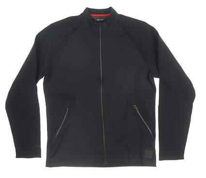 New Mens Adidas Jacket Medium M Black MSRP $130 DP6870