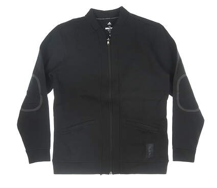 New Mens Adidas Jacket Medium M Black MSRP $110 CY7476