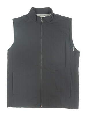 New Mens Adidas Adipure Quilted Vest Medium M Gray MSRP $100 BC5422