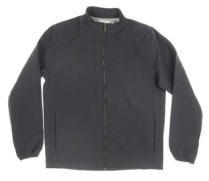 New Mens Adidas Adipure Quilted Jacket Medium M Gray MSRP $110 BC5420