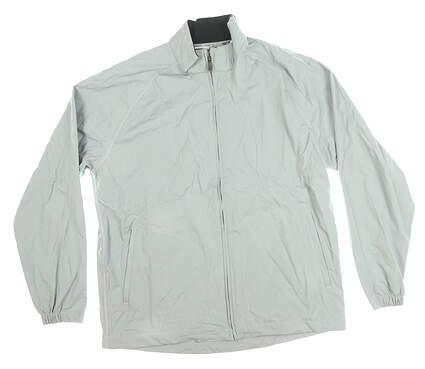 New Mens Adidas Wind Jacket Medium M Gray MSRP $90 BC5701