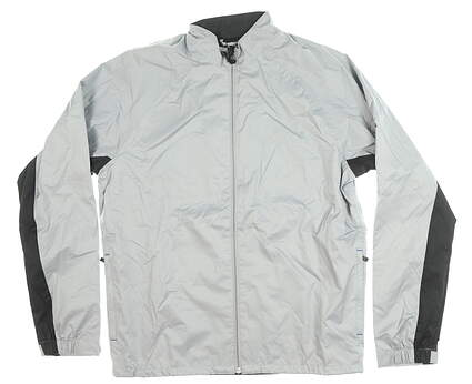 New Mens Adidas Wind Jacket Medium M Gray MSRP $90 BC4009