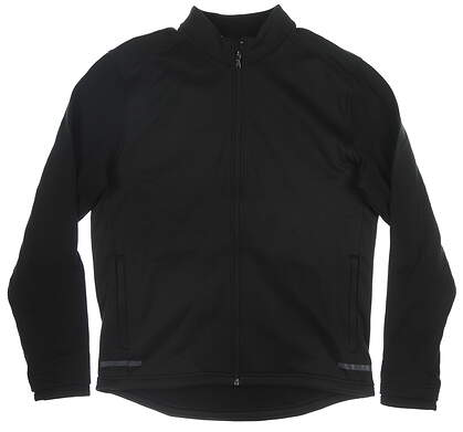 New Mens Adidas Climaheat Jacket Medium M Black MSRP $80 BC6772