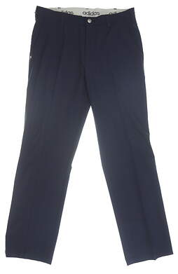 New Mens Adidas Golf Pants 32 x32 Navy Blue MSRP $80