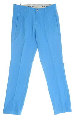 New Mens Adidas Golf Pants 32 x32 Blue MSRP $80