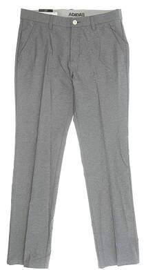 New Mens Adidas Golf Pants 32 x32 Gray MSRP $80