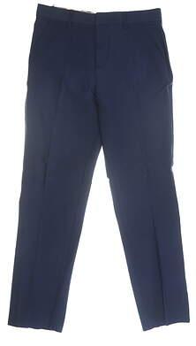 New Mens Adidas Adipure Golf Pants 32 x32 Navy Blue MSRP $90