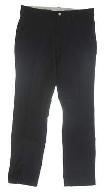 New Mens Adidas Pants 32 x32 Black MSRP $80