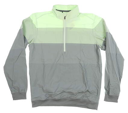 New Mens Adidas Jacket Medium M Green/Gray MSRP $70 CF7735