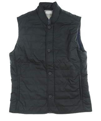 New Mens Adidas Adipure Quilted Vest Medium M Black MSRP $100 CZ8746