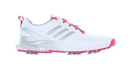 New W/O Box Womens Golf Shoe Adidas Response Bounce 2.0 SL Medium 7 White/Pink MSRP $80 AC8283
