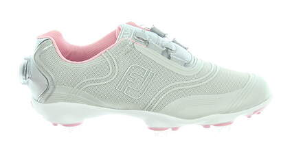 New Womens Golf Shoe Footjoy Aspire BOA Medium 7.5 Gray MSRP $180 98898