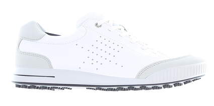 New Mens Golf Shoe Ecco Street Retro 41 (7-7.5) White MSRP $140 15060454322