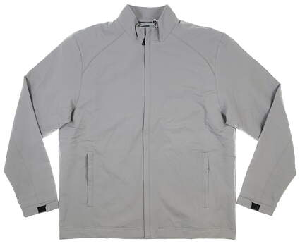 New Mens Cutter & Buck Jacket Large L Gray MSRP $180 MCO00945