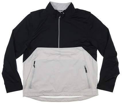 New Mens Cutter & Buck Fairway 1/2 Zip Jacket Large L Multi MSRP $170 MCO00011