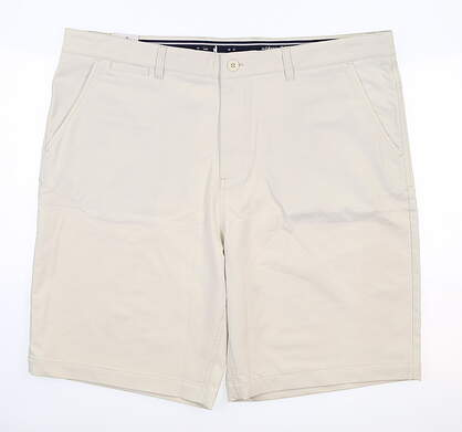 New Mens Johnnie-O Mulligan Shorts 40 Stone MSRP $85 JMSH1070