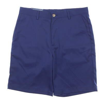 New Mens Vineyard Vines Classic Fit Links Shorts 32 Navy Blue MSRP $85