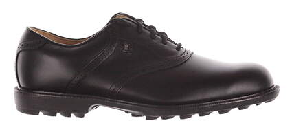 New Mens Golf Shoe Footjoy Country Club Professionals Wide 11 Black MSRP $180 57007