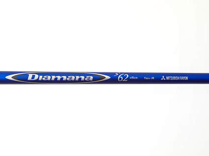 Used W/ Adapter Titleist Mitsubishi Rayon Diamana Blue Driver Shaft Regular 44.25in