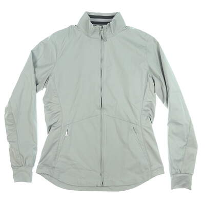New Womens Cutter & Buck Nine Iron Jacket Medium M Gray MSRP $105 LCO00005