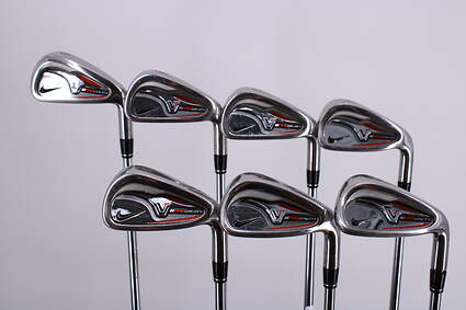 Nike Victory Red Pro Cavity Iron Set 5-GW Rifle 6.0 Steel Stiff Right Handed 38.25in