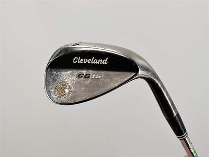 Cleveland CG15 Black Pearl Wedge Sand SW 56° 14 Deg Bounce Cleveland Action Ultralite W Steel Wedge Flex Right Handed 35.5in