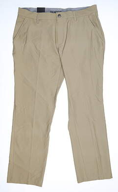 New Mens Adidas Pants 35 x30 Khaki MSRP $80 DZ5702