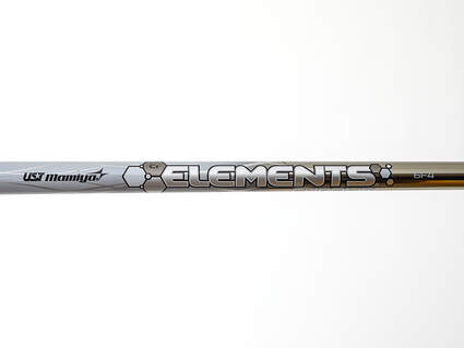 Used W/ Adapter UST Mamiya Elements Chrome 65 Driver Shaft Stiff 43.75in