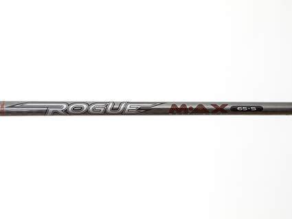 Used W/ Adapter Aldila Rogue Max Mid Launch Driver Shaft Stiff 44.5in