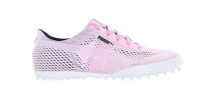 New Womens Golf Shoe Puma Monolite Cat Woven Medium 7.5 Pink MSRP $70 190611 05