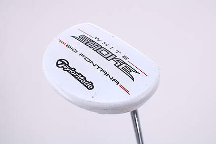 TaylorMade White Smoke Big Fontana Putter Steel Right Handed 33.5in