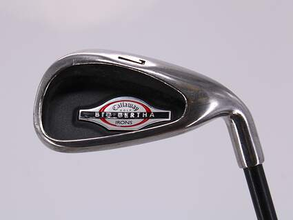 Callaway 2002 Big Bertha Single Iron 7 Iron Callaway RCH 75i Graphite Senior Right Handed 37.0in