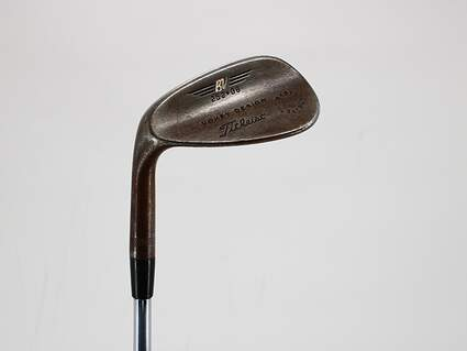 Cobra 2012 Trusty Rusty Rust Finish Wedge Gap GW 52° 8 Deg Bounce True Temper Steel Wedge Flex Left Handed 35.5in