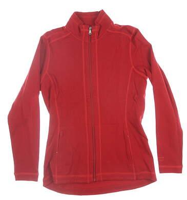 New Womens Cutter & Buck Jacket Medium M Red MSRP $120 LCK08687