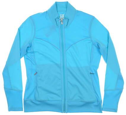 New Womens Cutter & Buck Golf Jacket Medium M Blue MSRP $70