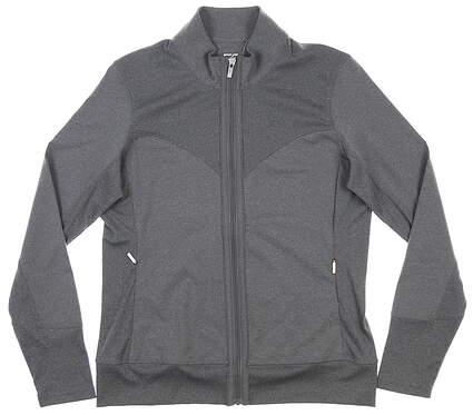 New Womens Cutter & Buck Golf Jacket Medium M Gray MSRP $70