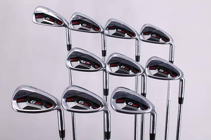 Ping G410 Iron Set 4-PW GW SW LW AWT 2.0 Steel Regular Right Handed Black Dot 38.5in