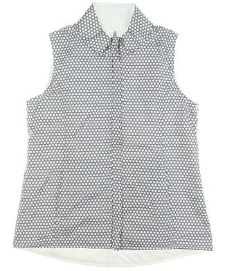 New Womens Peter Millar Reversible Golf Vest Large L Multi MSRP $169 LF19EZ01A