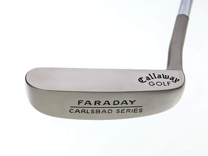 Mint Callaway Carlsbad Faraday Putter Steel Right Handed 35.0in