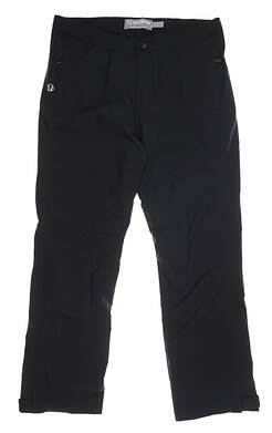 New Womens SUNICE Rainy Zephal Rain Pants Medium M Black MSRP $180 S46502