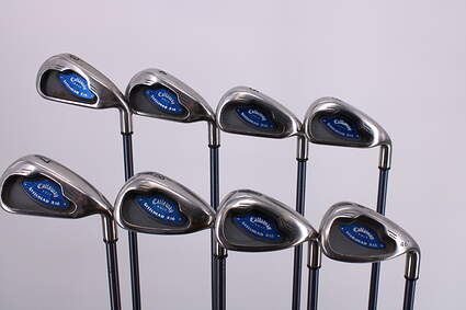 Callaway X-16 Iron Set 3-PW Callaway System CW75 Graphite Regular Right Handed 37.75in